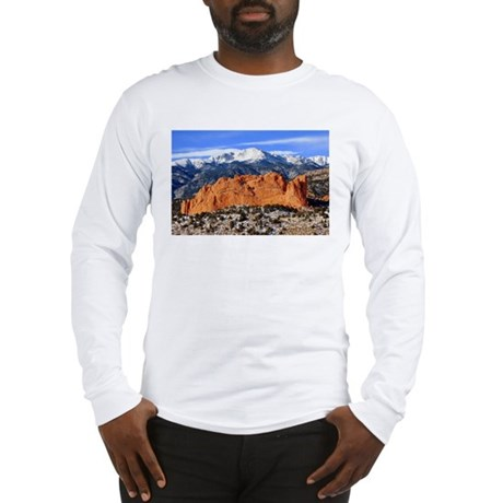 Pikes Peak, Kissing Camels Long Sleeve T-Shirt
