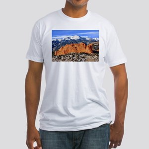 Pikes Peak, Kissing Camels Fitted T-Shirt