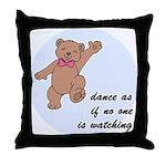 Dancing Bear Throw Pillow
