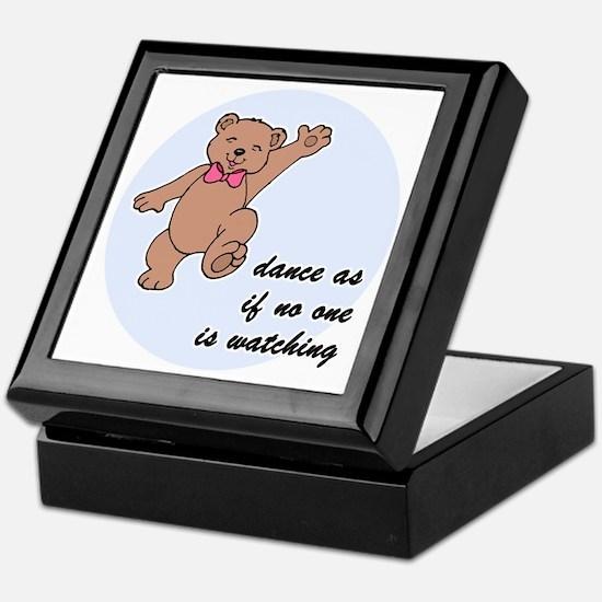 Dancing Bear Keepsake Box