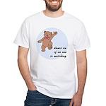 Dancing Bear White T-Shirt