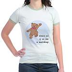Dancing Bear Jr. Ringer T-Shirt