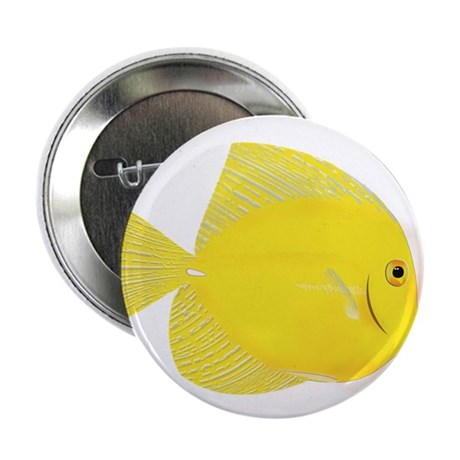 "Yellow Tang 2.25"" Button"