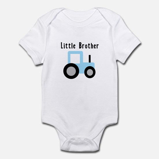 Little Brother Baby Blue Trac Infant Bodysuit