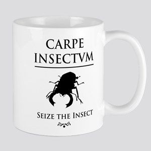 Carpe Insectum D black Stainless Steel Travel Mugs