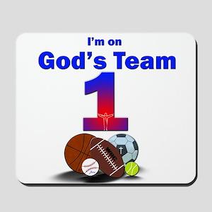 Gods Team Jesus Vbs Vacation Bible School Baptist Mouse Pads Cafepress