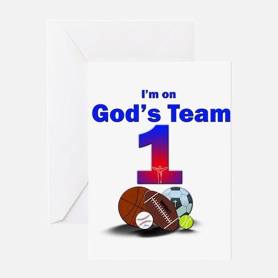 God's Team Greeting Card