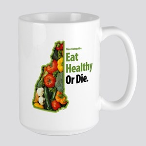 NH Eat Healthy Or Die Mugs