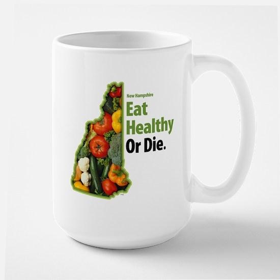 NH Eat Healthy Or Die Mugs