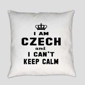 I am Czech and I can't keep calm Everyday Pillow