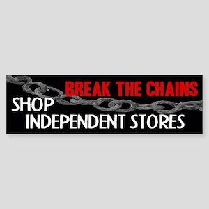 Break the Chains Bumper Sticker