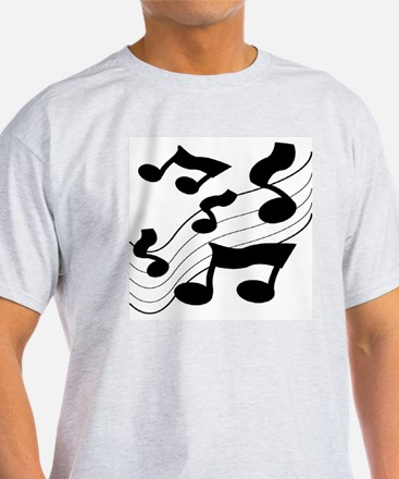 BLACK AND WHITE NOTES T-Shirt