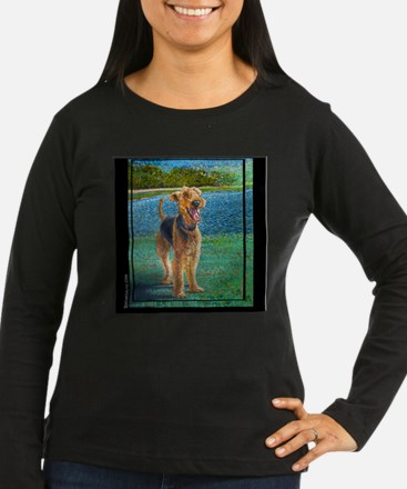 "Airedale ""Max"" a kevin rockwe T-Shirt"