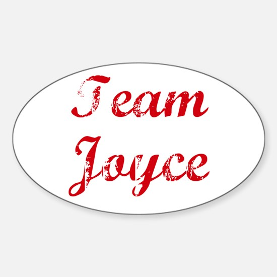 TEAM Joyce REUNION Oval Decal