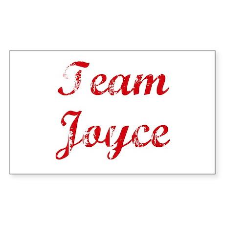 TEAM Joyce REUNION Rectangle Sticker