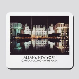 NYS Capitol on the Plaza Mousepad