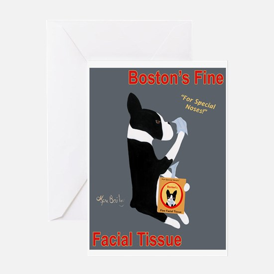 Boston's Fine Facial Tissue Greeting Card