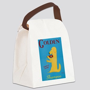 Golden Shampoo Canvas Lunch Bag