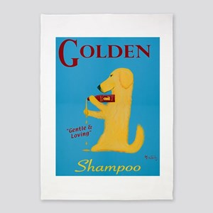 Golden Shampoo 5'x7'Area Rug