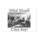 What Would They Say? Postcards (Package of 8)