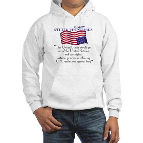 USA Foreign Policy Hooded Sweatshirt
