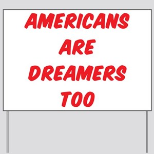 Americans Yard Sign