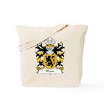 Rhun Family Crest Tote Bag
