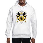 Rhun Family Crest Hooded Sweatshirt