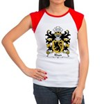 Rhun Family Crest Women's Cap Sleeve T-Shirt