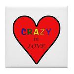 Crazy in Love Tile Coaster