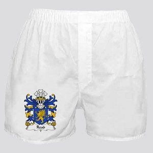 Read Family Crest Boxer Shorts