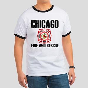 Chicago Fire Department Ringer T