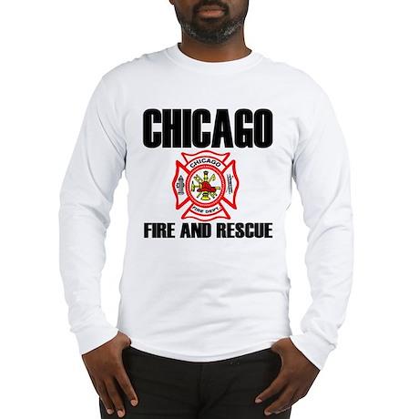 Chicago Fire Department Long Sleeve T-Shirt
