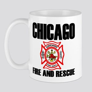 Chicago Fire Department Mug