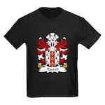 Rastall Family Crest Kids Dark T-Shirt