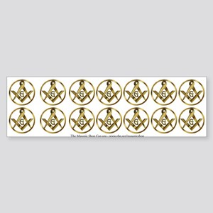 14 Masonic Circle Stickers