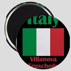 Villanova Truschedu Italy Magnets