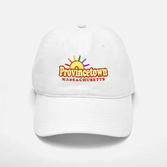 Sunny Gay Provincetown, Massachusetts Baseball Baseball Cap