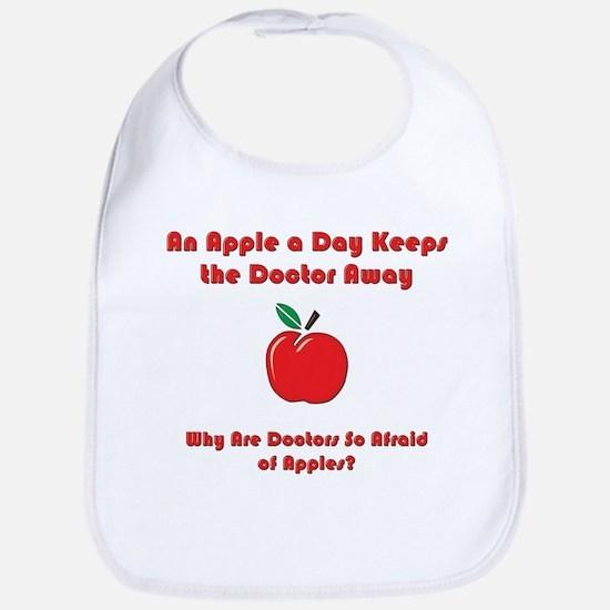 Fear of Apples Bib