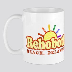 Sunny Gay Rehoboth Beach, Delaware Mug
