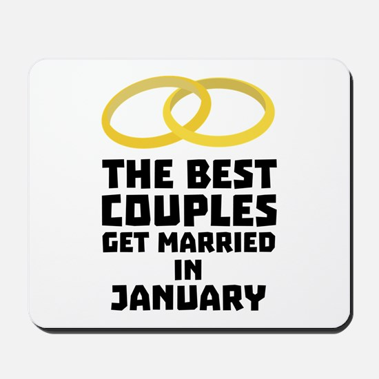 The Best Couples in JANUARY C00xc Mousepad