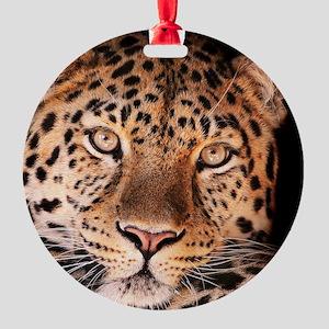 Jaguar Round Ornament