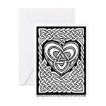 Celtic Knotwork Heart Greeting Card