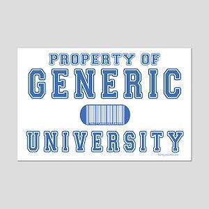 Generic University Mini Poster Print