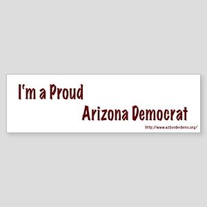 Proud Arizona Democrat Bumper Sticker