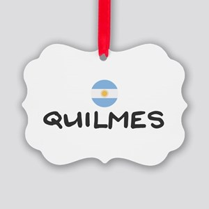 Quilmes Picture Ornament