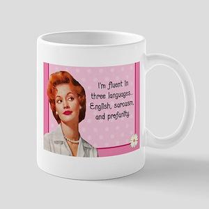 English Sarcasm Profanity Mugs