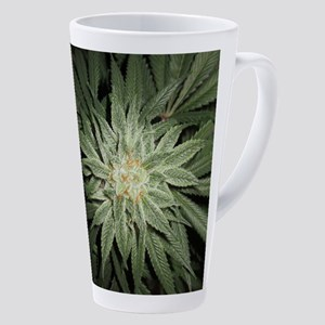 Cannabis Plant 17 Oz Latte Mug