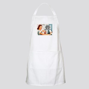 Laundry Won't Kill You Light Apron