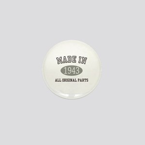 Made In 1943 All Original Parts Mini Button